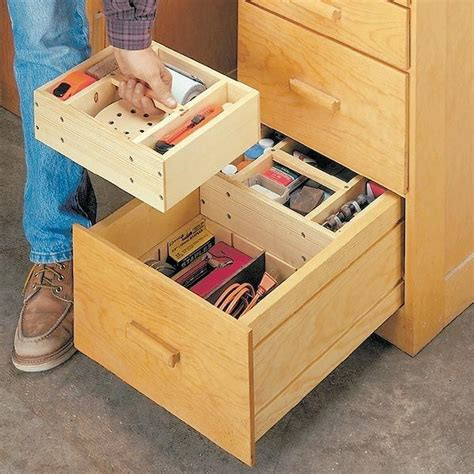 hidden storage solutions 118 best shop storage images on pinterest tools