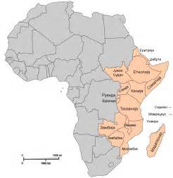 East Africa Map by East Africa Map Images