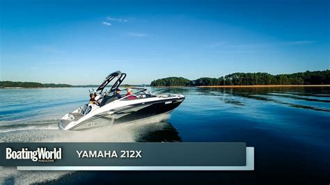 yamaha boats test yamaha 212x boat test youtube
