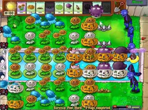tutorial uñas zombie plants vs zombies survival endless setup tutorial youtube