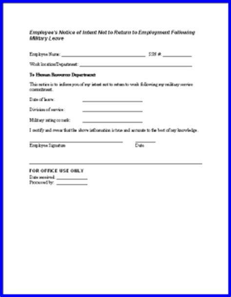 return to work notice template notices to employer