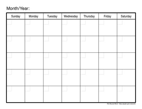 printable calendar outline printable 90 day calendar online calendar templates