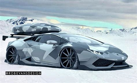 realtree camo lamborghini winter camo wrap images