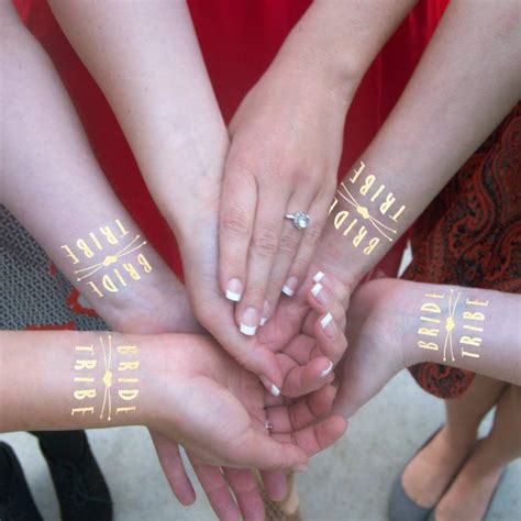 bachelorette temporary tattoos tribe gold temporary tattoos 20 individually