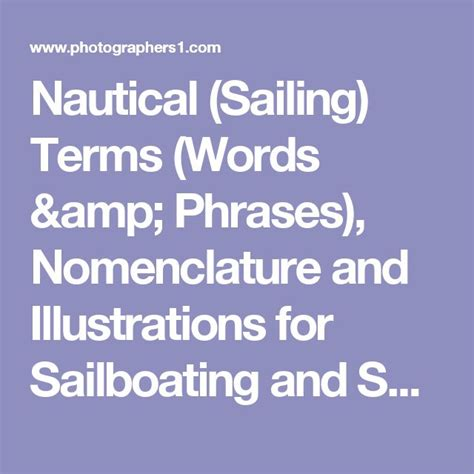 boat glossary of terms best 25 nautical terms ideas on pinterest boat terms