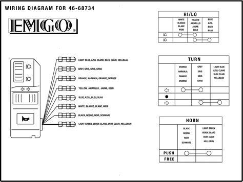 emgo universal handlebar multi switch left 46 68734