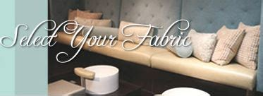 custom pedicure benches select your fabric pedicure benches