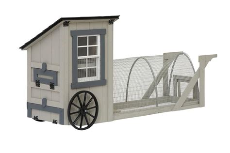 Christiana Cabinets by Amish 9 Easy Roll Chicken Coop