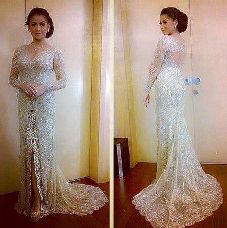 inspirasi model kebaya modern pengantin inspirasi gaun pengantin modern rancangan ivan gunawan