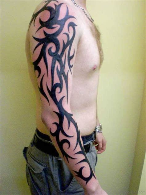 simple sleeve tattoos 53 graceful tribal tattoos on sleeve