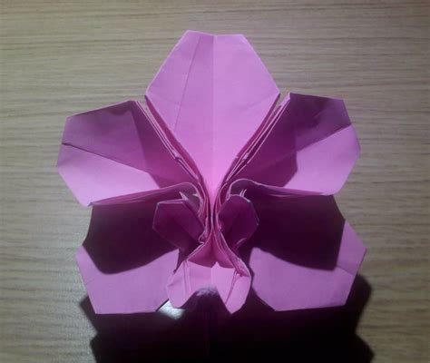 Orchid Origami - origami orchid blossom 1 by theorigamiarchitect on deviantart