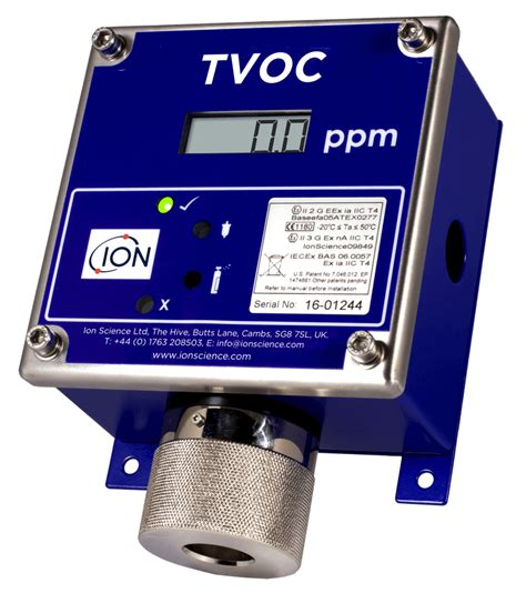 Voc Detector tvoc fixed pid detector for volatile organic compounds