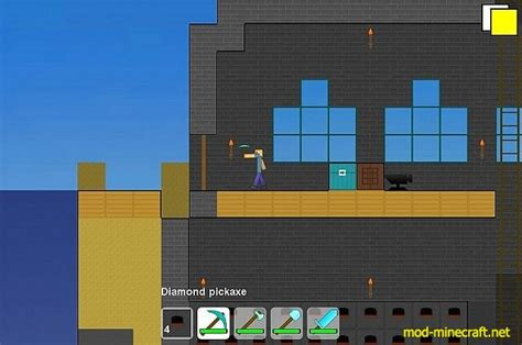 minecraft 2d mod online game 2d minecraft game macrocosm 1 7 8 mod minecraft net