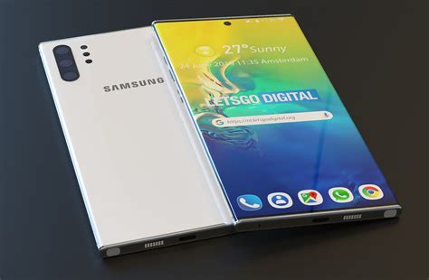 these stunning galaxy note 10 pro renders will make you forget all about samsung s awful galaxy