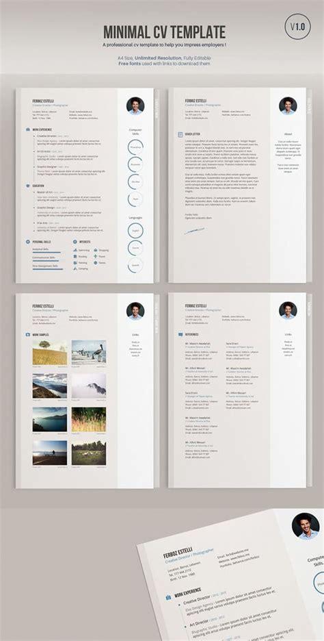 minimal html5 template free this week on list of freebies business card minimal cv