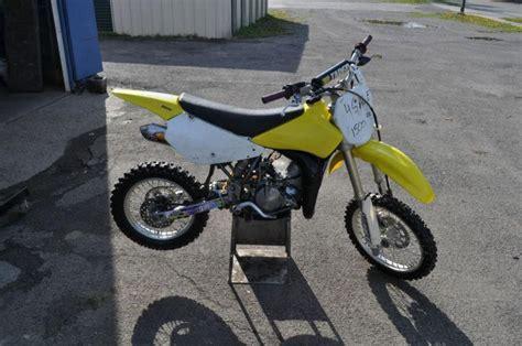 Suzuki 85 Dirt Bike Buy 2005 Suzuki Rm 85 Stock Small Wheel Dirt Bike On 2040