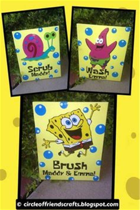 spongebob bathroom decor 1000 images about kids bathroom on pinterest spongebob