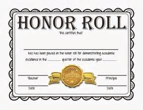 Steve s classroom new freebie honor roll certificates gold silver