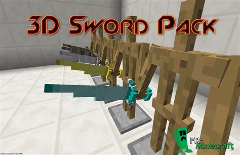 Papercraft Minecraft Resource Pack - minecraft texture minecraft 3d sword packs 1 1 8 8