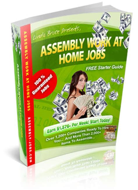work from home assembly work at home business ideas