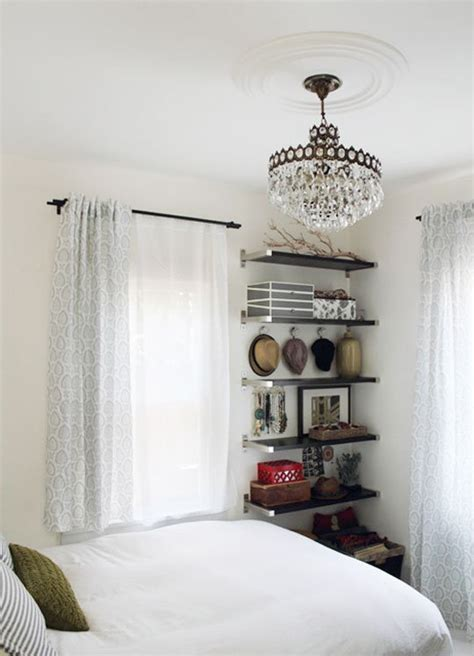 how to utilize space in a small bedroom small bedroom ideas floating wall shelves don t take up