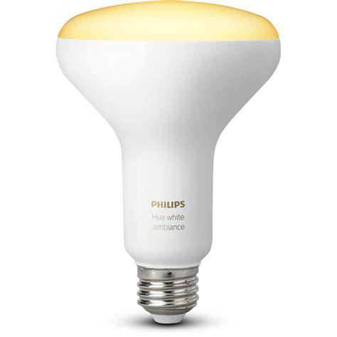 Philips Hue Light Bulbs by Philips Hue Br30 Single Bulb White Ambiance 464438 B H Photo