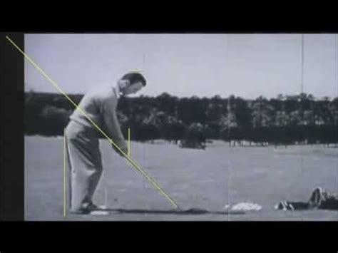 ben hogan golf swing analysis ben hogan golf swing analysis by craig hanson you tubes