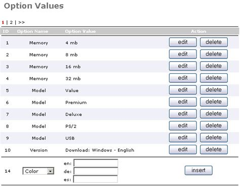 Table Attributes Oscommerce 2 1 How To Add Product Attributes Template