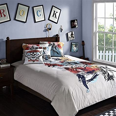 hockey bed ice hockey duvet cover set bedbathandbeyond ca