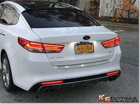 Kia Warranty Bumper To Bumper Vendor Fs New 2016 2017 Kia Optima Rear Sequential