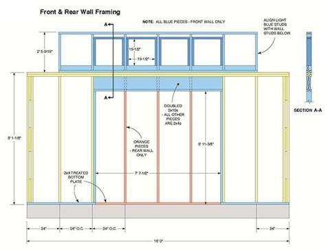 storage shed plans blueprints  large gable shed  dormer