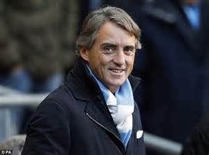 City Manager Former Manchester City Manager Roberto Mancini Tempted By