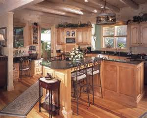 Log Home Kitchen Ideas Photos Of A Log Home In
