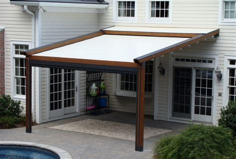 Pergola With Retractable Sun Shade Home Design Ideas Pergola Sun Shades