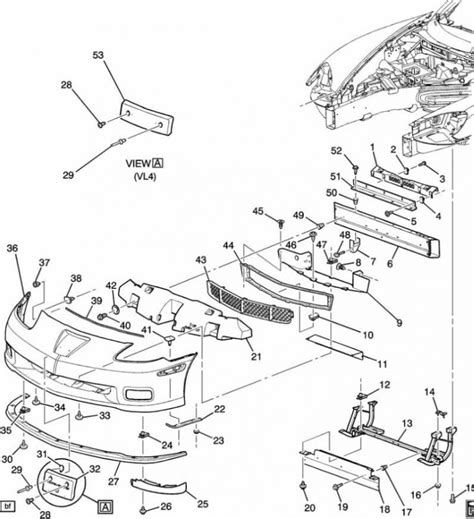 corvette forum c6 parts i need help identifying missing parts front bumper