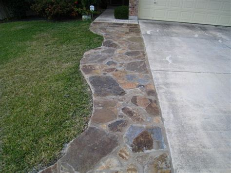 driveway width extension johnlandscaping com garden spaces pinterest patio flagstone