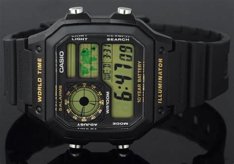 Casio Jam Tangan Ae 1200wh 1bvdf casio world time 10 years battery a end 11 24 2018 3 15 pm