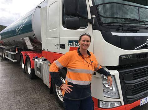 female trucker  represent australia  examiner