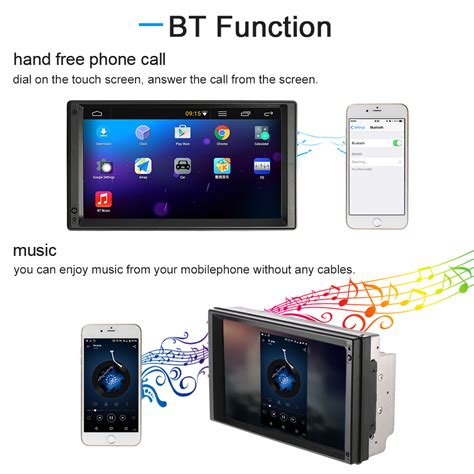 gps navigation android 7 quot universal 2 din car mutimedia player gps navigation android 5 1 stereo autoradio