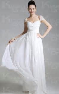 white chiffon princess off the shoulder sleeveless long