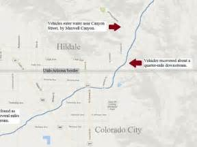 colorado city az map 12 dead one missing in hildale flood