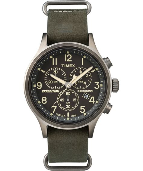 Expedition E6738mc Chronograph Black Blue Original expedition watches outdoor watches timex