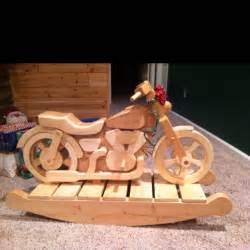 Wooden toys wooden nickel motorcycles rocker wooden motorcycles