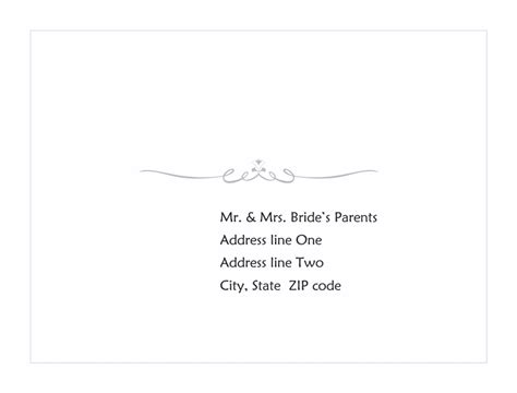 envelope template word 2013 wedding response card envelope scroll