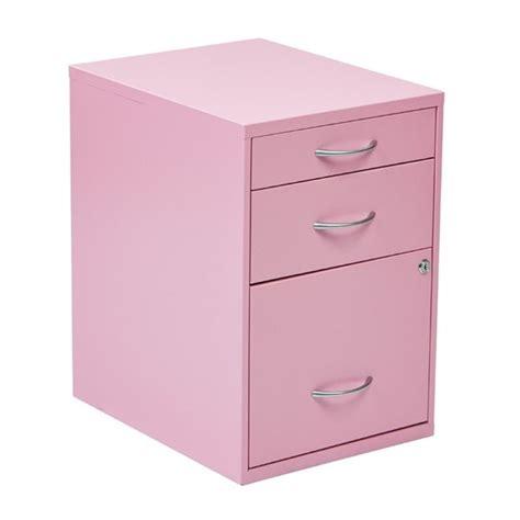 Pink Filing Cabinet Scranton Co 3 Drawer Metal File Cabinet In Pink Sc 1452393