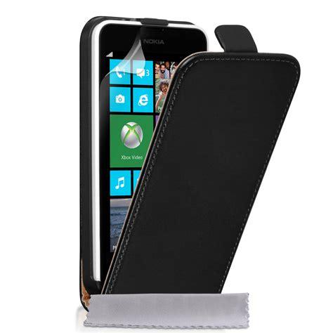 Casing Nokia Lumia 630 caseflex nokia lumia 630 real leather flip black