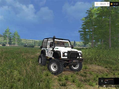 land rover dakar land rover defender dakar white v 1 0 fs2015 com