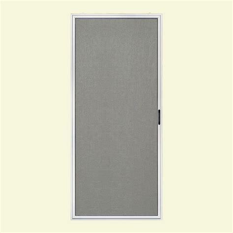 jeld wen door screen jeld wen premium atlantic 36 in x 80 in white right