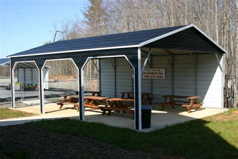 pavillon carport carports california ca metal carports steel carports