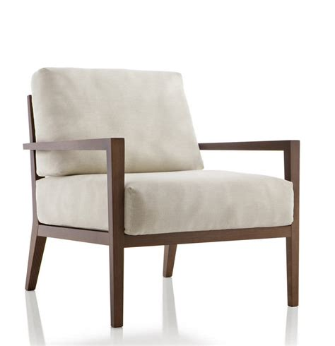 contemporary leather armchair lasted long hot sale wooden frame armchair with fabric